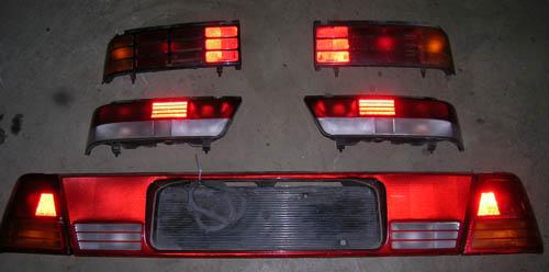 Swift 89- Hátsó Lámpa