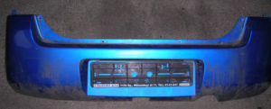Wagon R+ hátsó lökhárító
